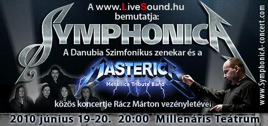SymphonicA - Metallica tribute együttes adja elő az S&M-et