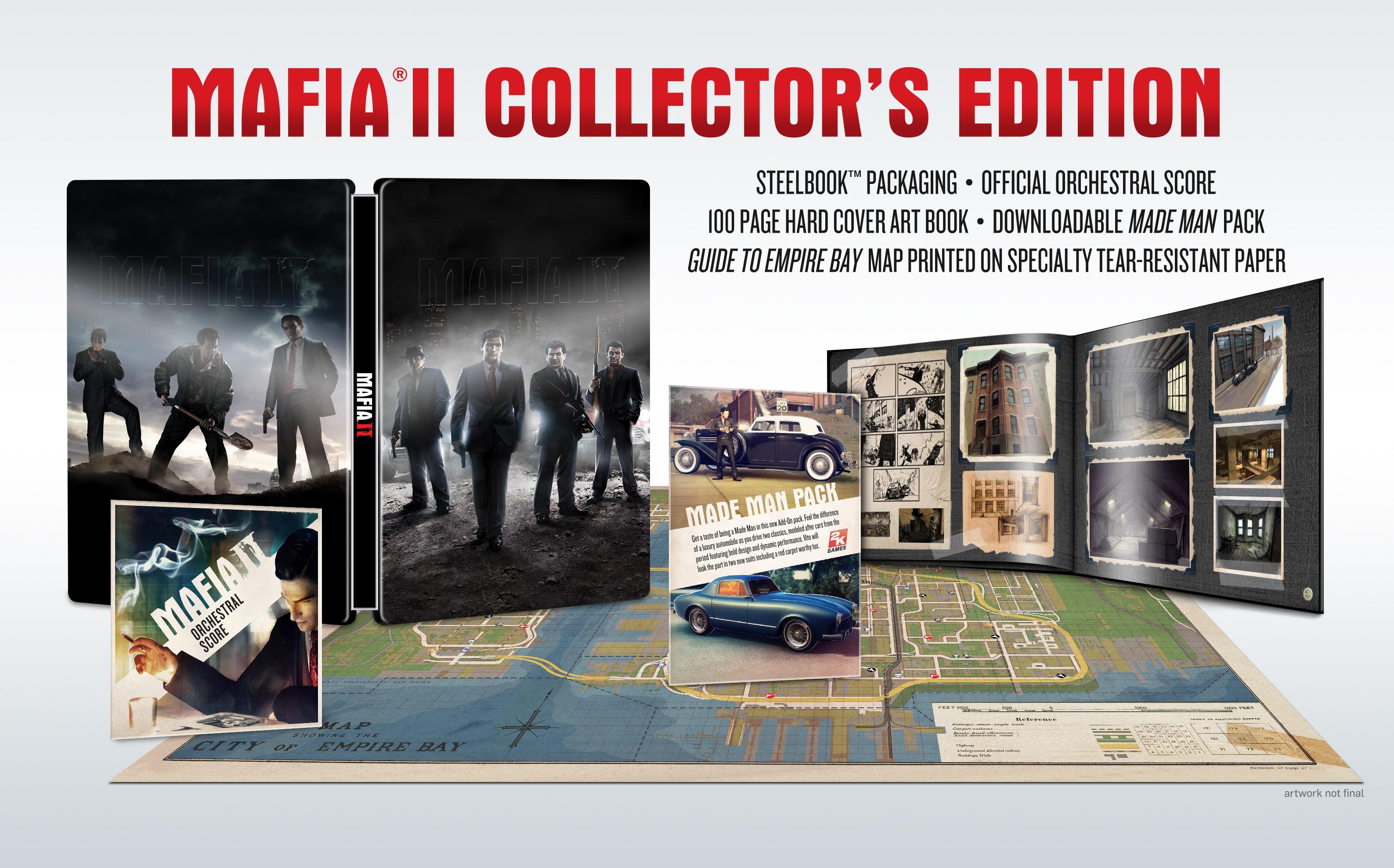 Mafia II Collector's Edition