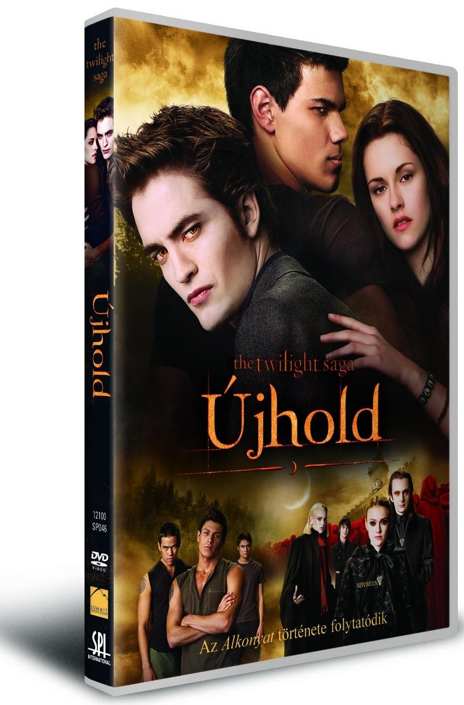 The Twilight Saga: Újhold – DVD és Blu-ray megjelenés