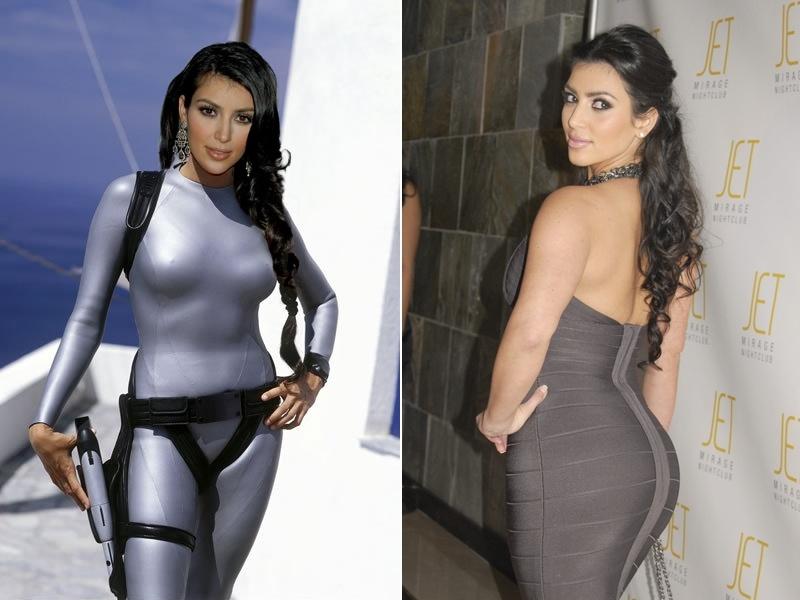 Kim Kardashian lehet az új Lara Croft?