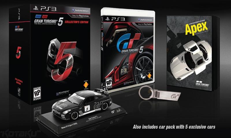 Gran Turismo 5 megjelenés és gyűjtői kiadás