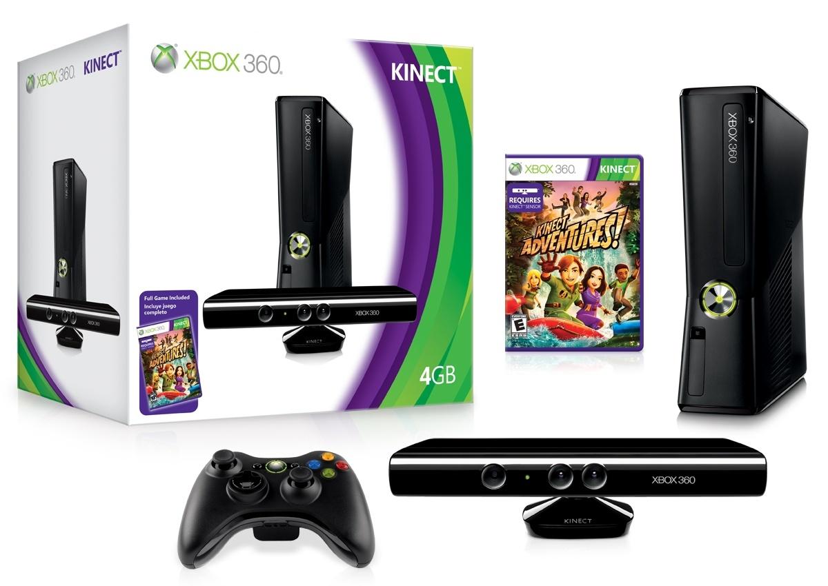 Beárazták az új, 4 GB-os Xbox 360-at és a Kinectet