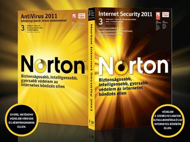 Megérkeztek a Norton 2011-es sorozatú védelmi szoftverei