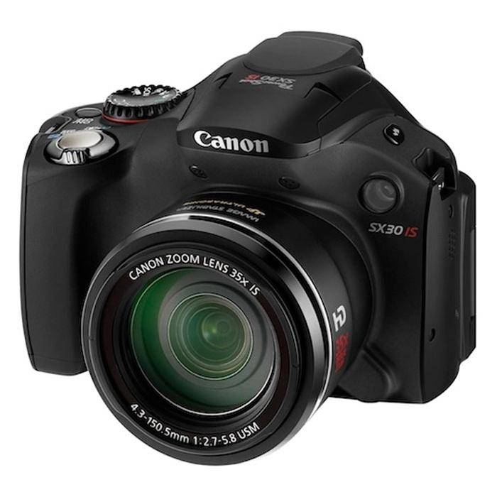 Canon PowerShot SX30 IS 35-szörös optikai zoommal