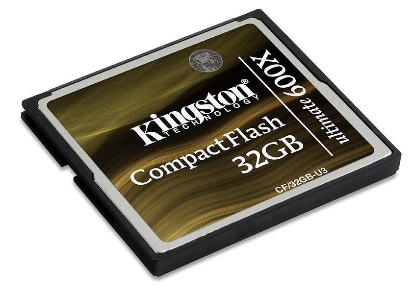 Kingston CF Ultimate 600x memóriakártyák