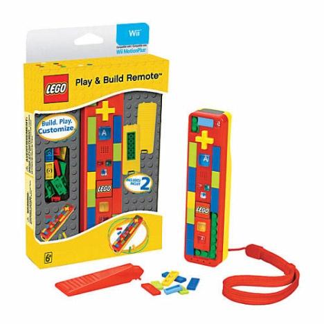 LEGO kontroller - Wiihez