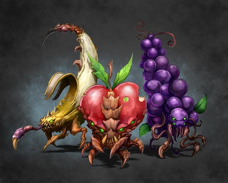 Gyümölcsöző zerg győzelem StarCraft II-ben