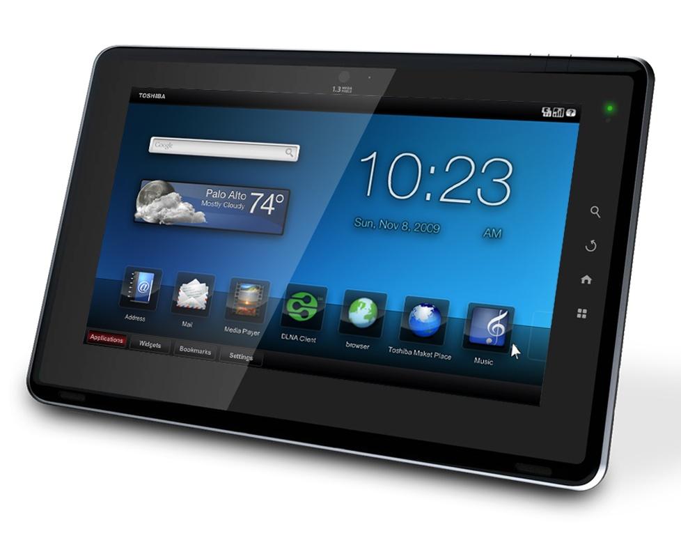 Hamarosan érkezik a Toshiba FOLIO 100 androidos tablet