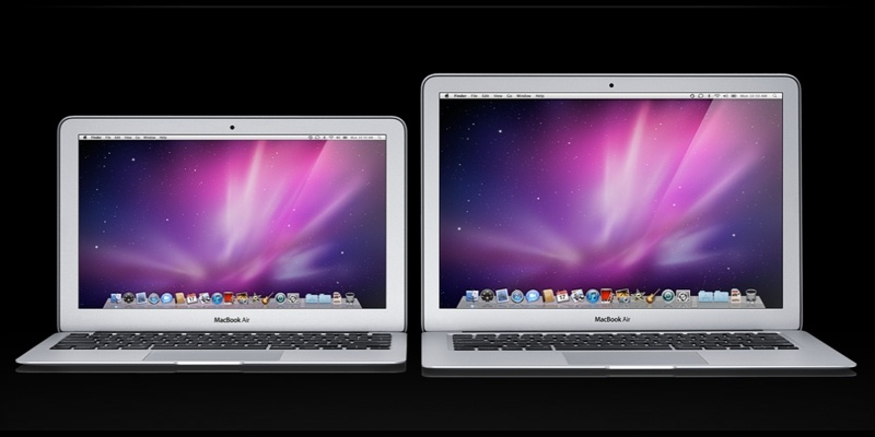 Megújuló MacBook Air 11 és 13 hüvelykes kijelzővel