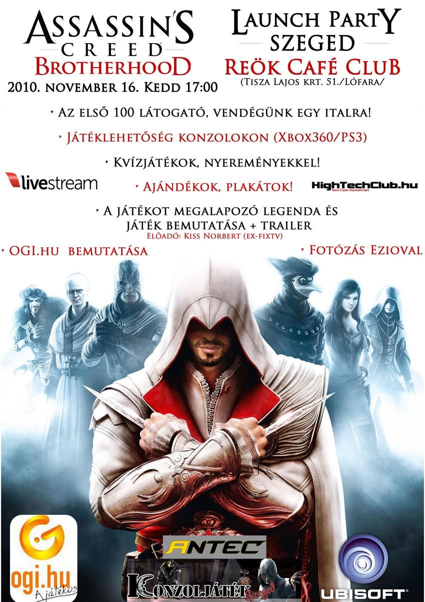 Assassin's Creed Brotherhood - bérgyilkos kerestetik!
