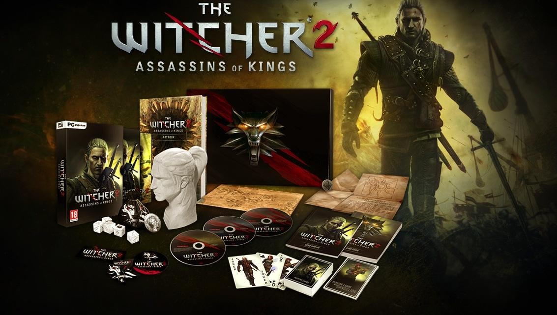 Witcher 2 - itt a Premium és a Collector's Edition