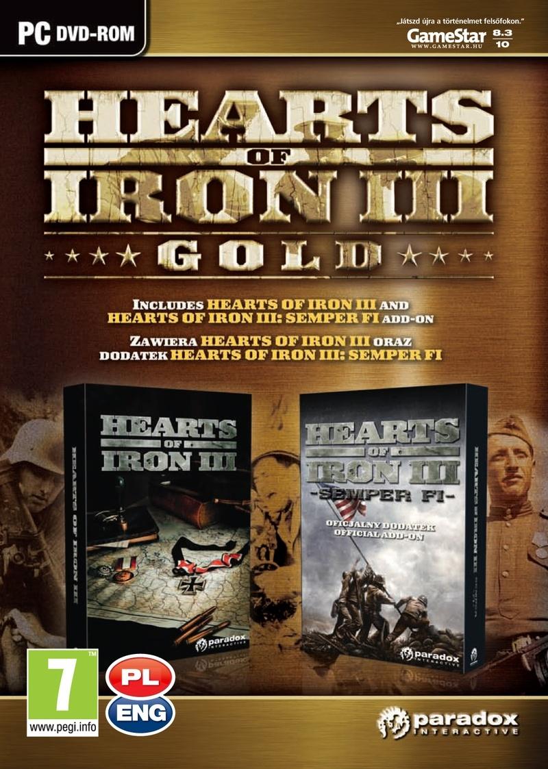 Hamarosan megérkezik a Hearts of Iron 3 Gold