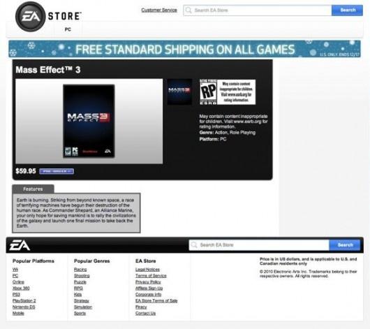 Mass Effect 3 bejelentés ma