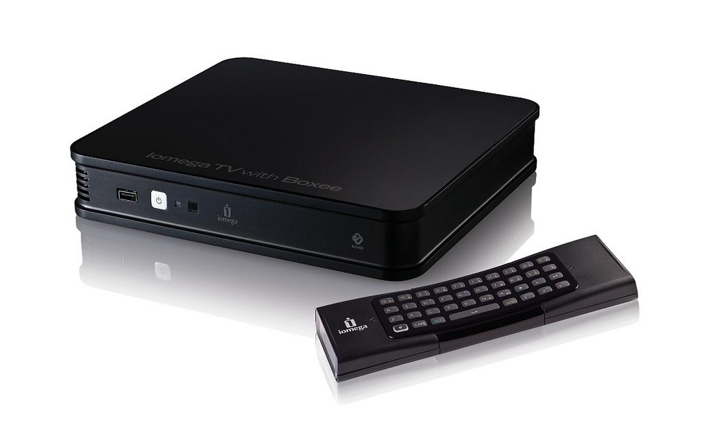 Iomega TV with Boxee: tévére köthető médiacenter