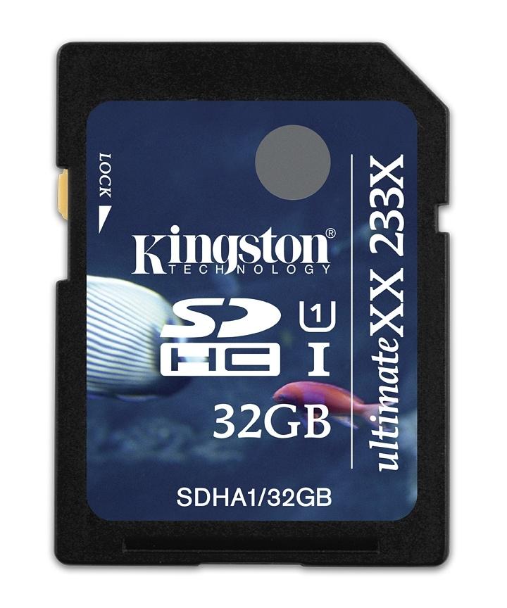 Kingston SDHC UHS-I UltimateXX memóriakártya 233-szoros sebességgel