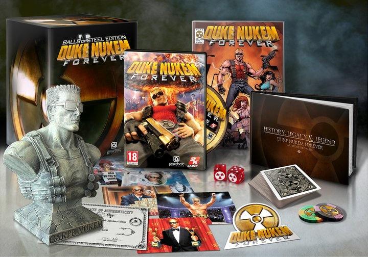 Duke Nukem Forever - gyűjtői kiadás