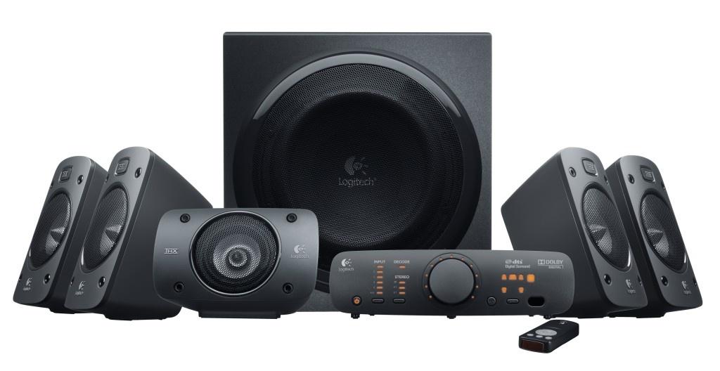 Logitech Z906 - a térhatású hangrendszer