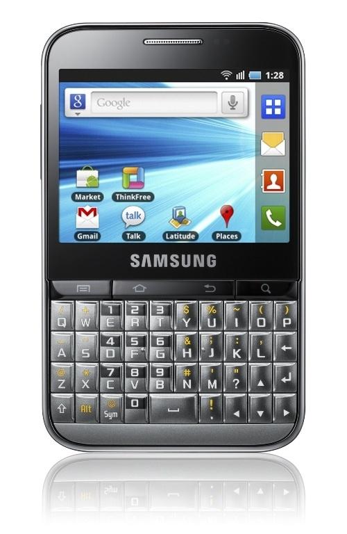 Samsung Galaxy Pro okostelefon üzleti felhasználásra