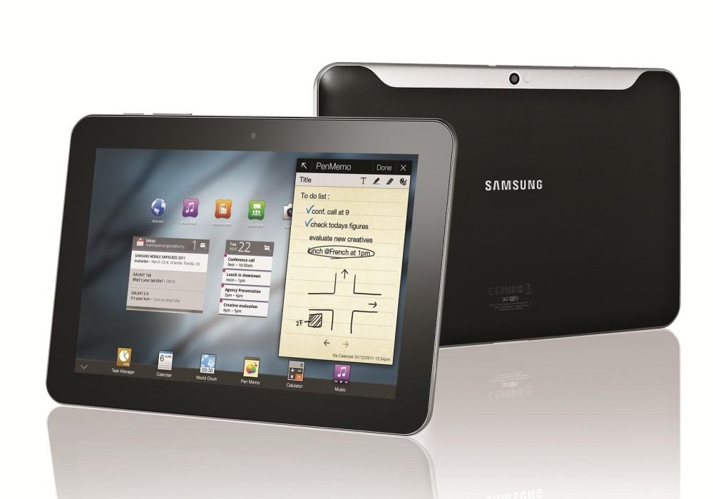 Új Samsung Galaxy Tab modellek 8,6 mm vastagsággal