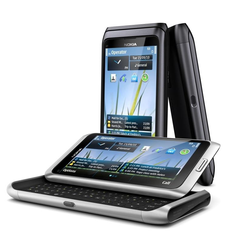 Áprilisban érkezik a Nokia E7