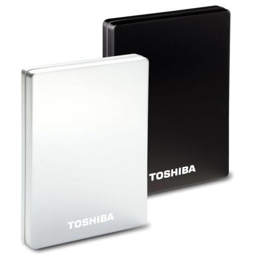 Új Toshiba StorE ALU 2S külső merevlemezek
