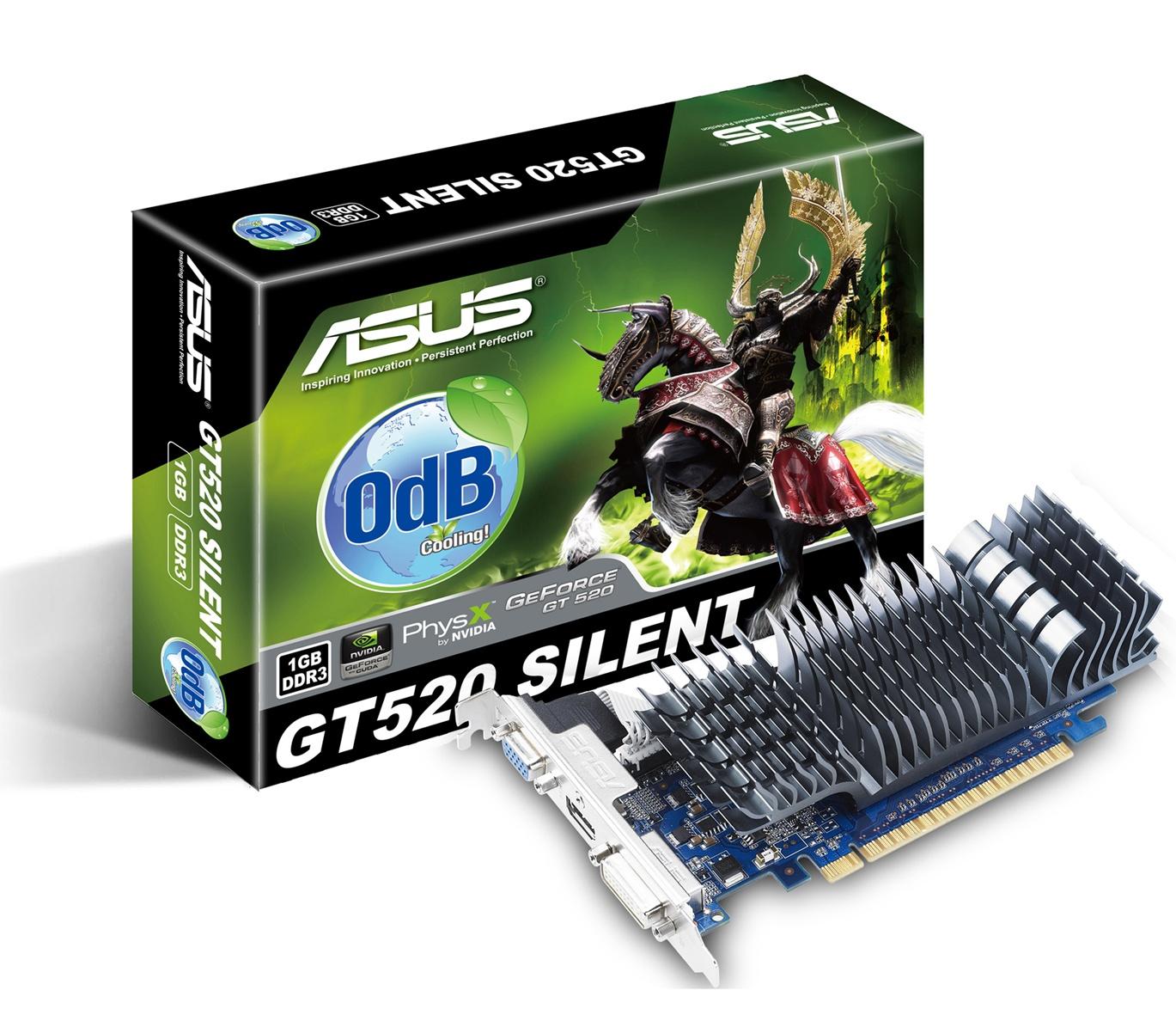 ASUS GT520 - videókártya érkezik