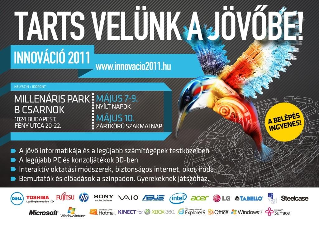 Programajánló: Innováció 2011 kiállítás május 7-től