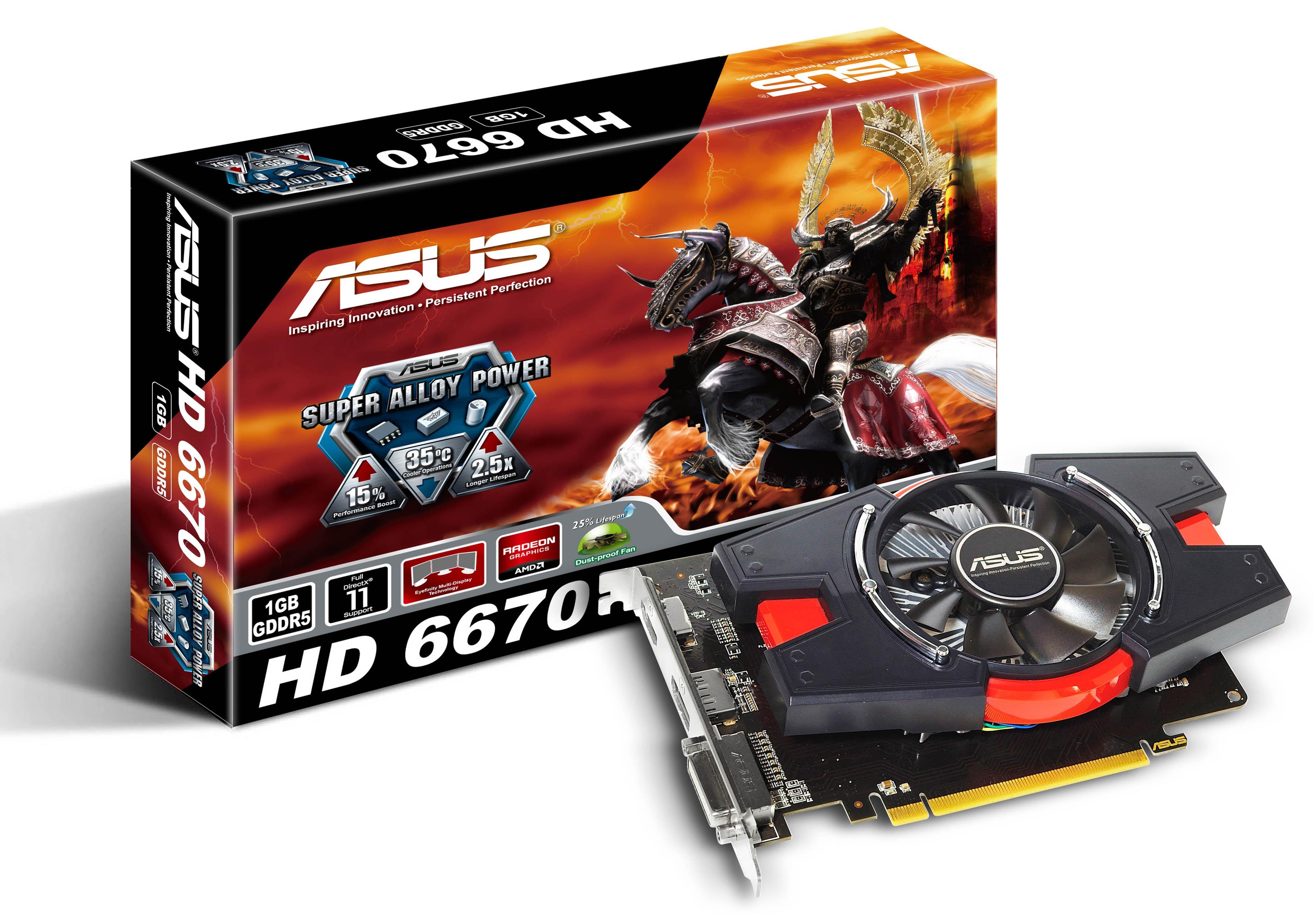 ASUS - Radeon kártyacsalád