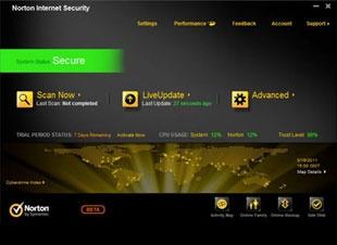 Elérhetőek a Norton Internet Security és AntiVirus 2012 béta verziói
