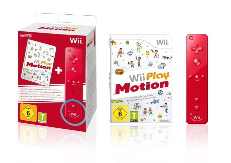 Exkluzív piros Wii Remote Plusszal érkezik a Wii Play Motion
