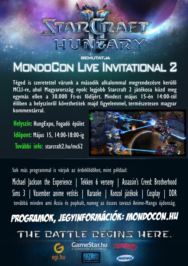 MondoCon 2011 tavaszi játékversenyek