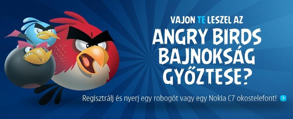 Nokia és Telenor Angry Birds Bajnokság indul
