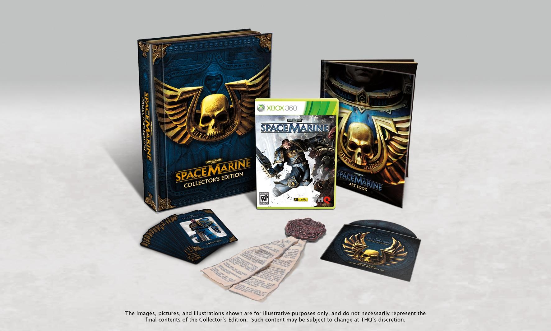 Warhammer 40k: Space Marine - collectors edition és extrák