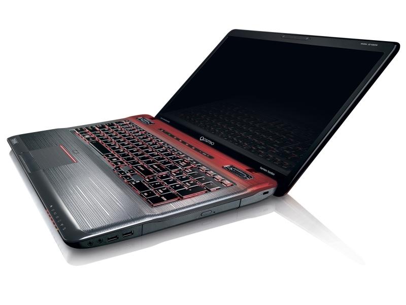 Toshiba Qosmio X770 és X770 3D - gamer laptopok