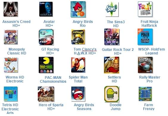 Ingyenes játékok Nokia tulajdonosoknak