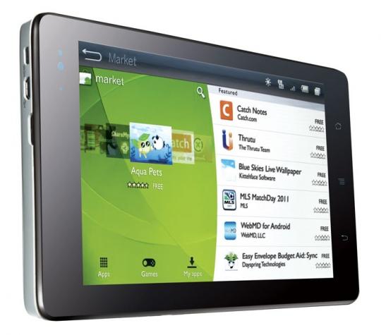 Androidos táblagép a Huawei-től