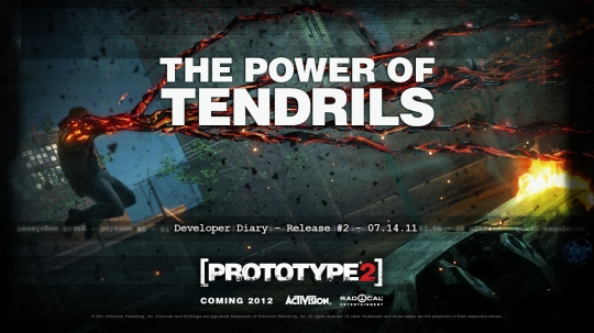 Prototype 2 - The Power of Tendrils trailer