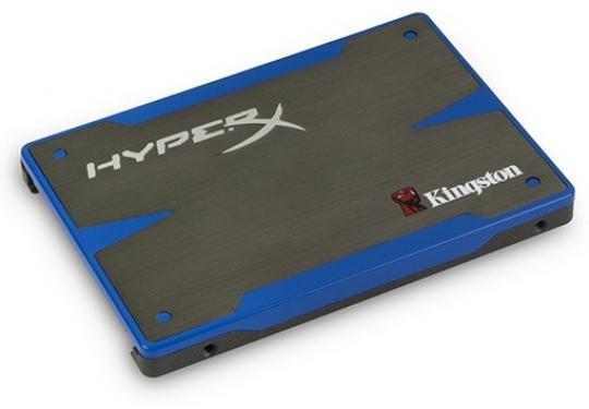 Kingston HyperX SSD meghajtó SATA 6 Gb/sec sebességű csatolóval