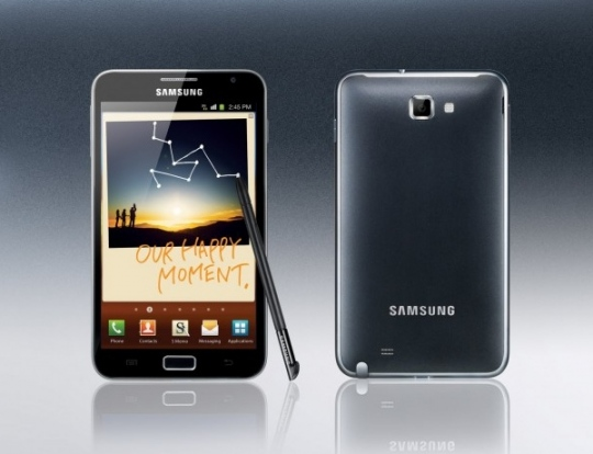Samsung Galaxy Note: okostelefon óriási kijelzővel