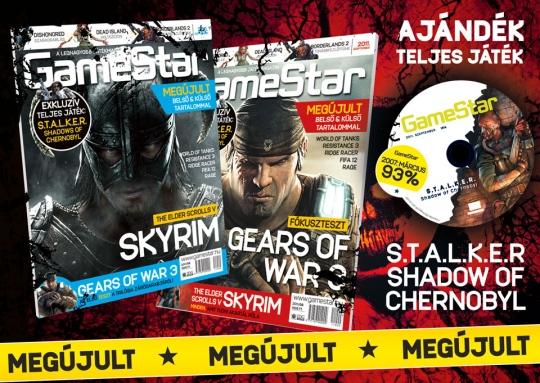Megújult a GameStar magazin