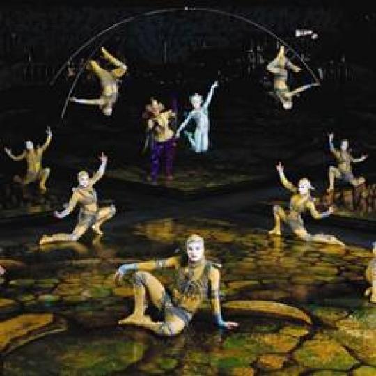 Cirque du Soleil a színfalak mögött