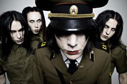 A svéd Deathstars lesz a Rammstein koncert előzenekara