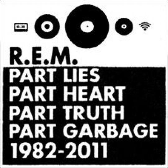 R.E.M.: Part Lies, Part Heart, Part Truth, Part Garbage trailer