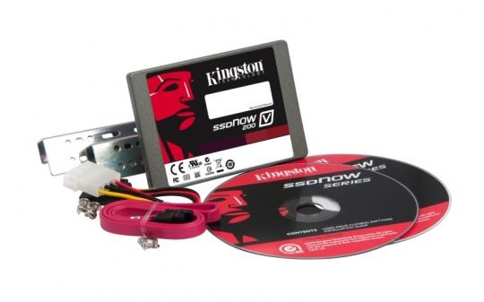 Kingson SSDNow V200 újgenerációs belépő szintű SSD