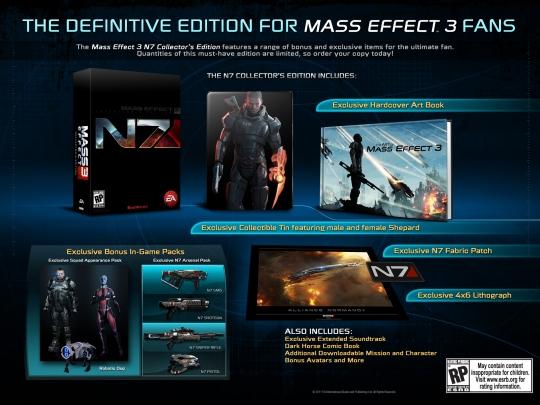 Mass Effect 3 - a gyűjtői kiadás