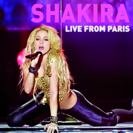 Shakira: Live from Paris DVD