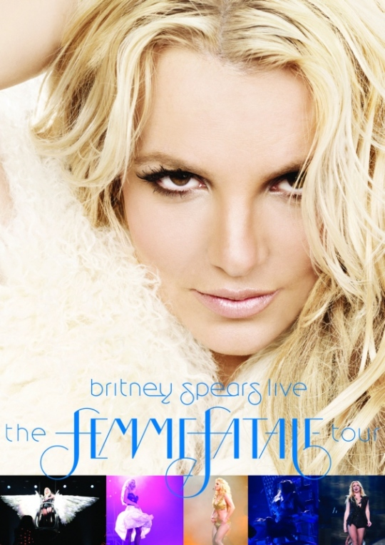 Britney Spears: The Femme Fatale Tour DVD és Blu-ray