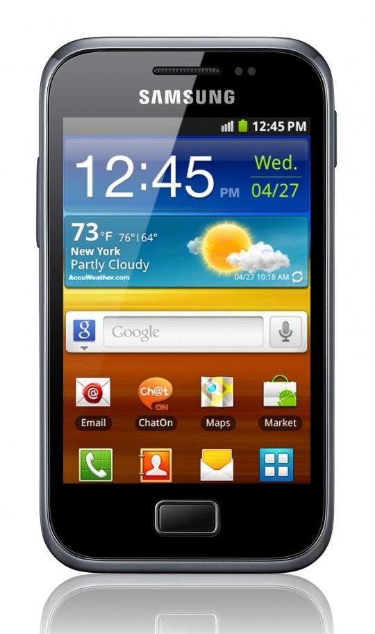 A Samsung bemutatta a Galaxy Ace Plust
