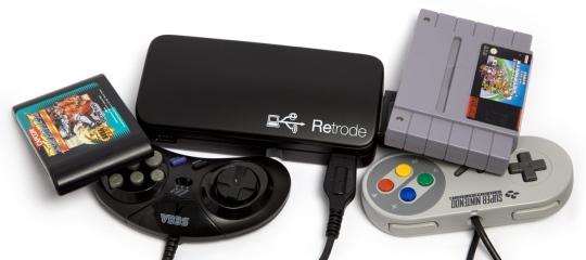 Retrode 2 - USB-s SNES/Sega Genesis adapter