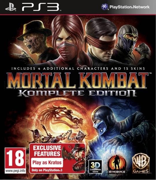 Mortal Kombat Komplete Edition bejelentés